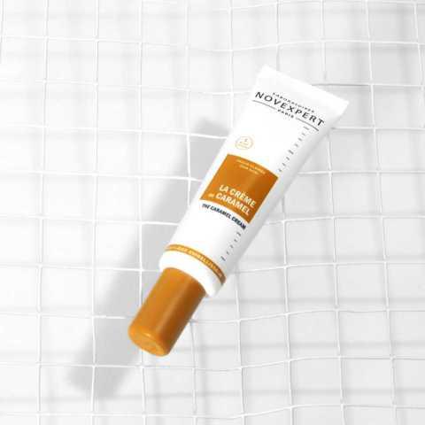 Crème au caramel peaux claires