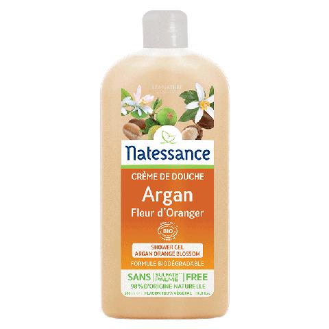 Crème de douche argan fleur d'oranger