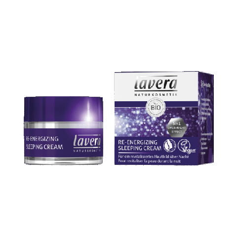 Lavera Re energizing sleeping cream