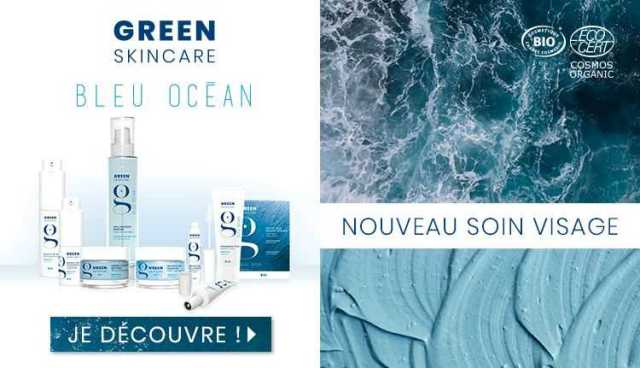 Soin visage Green bleu ocean