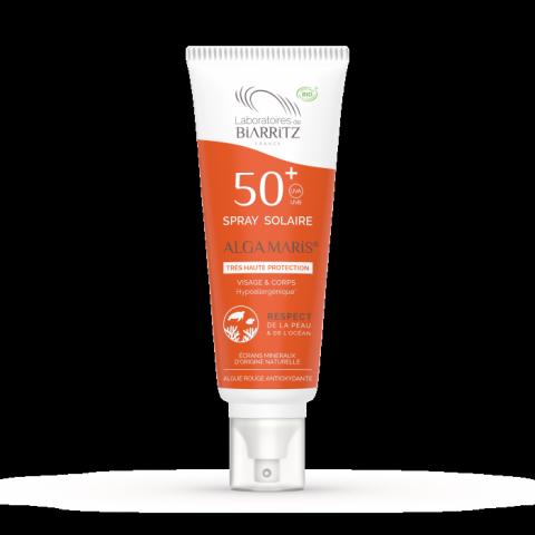 Spray solaire 50+