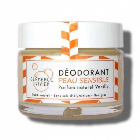 DÉODORANT peau sensible vanille