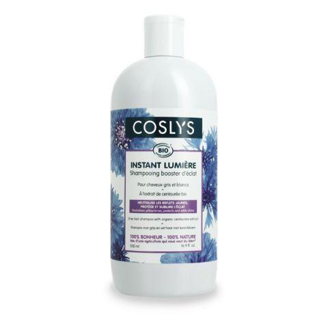 Shampooing cheveux blancs et argentés  à l'extrait de centaurée bio 500ml