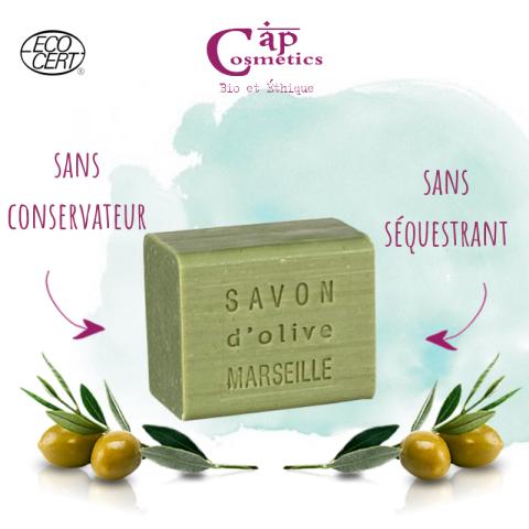 Cap cosmetic savon de Marseille