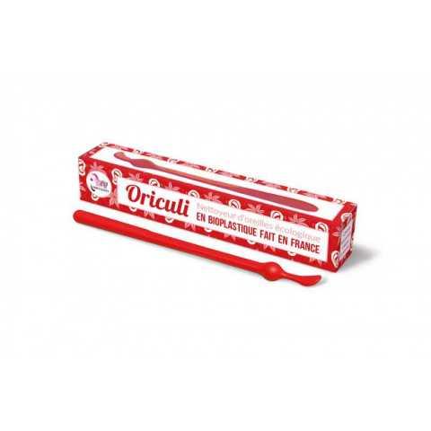 Oriculi bioplastique rouge
