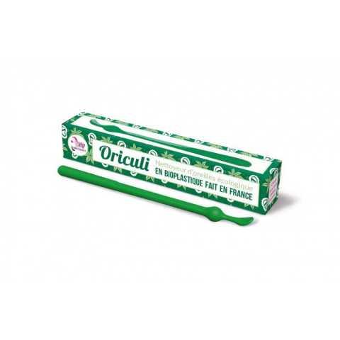 Oriculi bioplastique vert