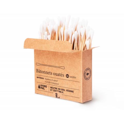 Coton tige réutilisable bambou