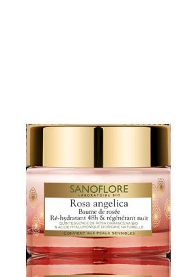 Rosa angelica - Baume de rosée Ré-hydratant 48h & régénérant nuit
