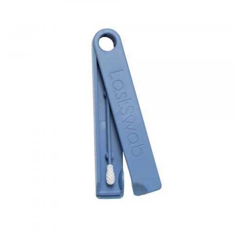 Coton tige réutilisable classique Whale blue