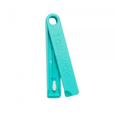 Coton tige réutilisable classique Dolphin turquoise