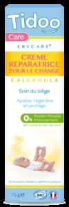 ERYCARE® - Crème Réparatrice Bio au Zinc et Calendula