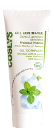 Coslys gel dentifrice dents et gencives sensibles 75 ml