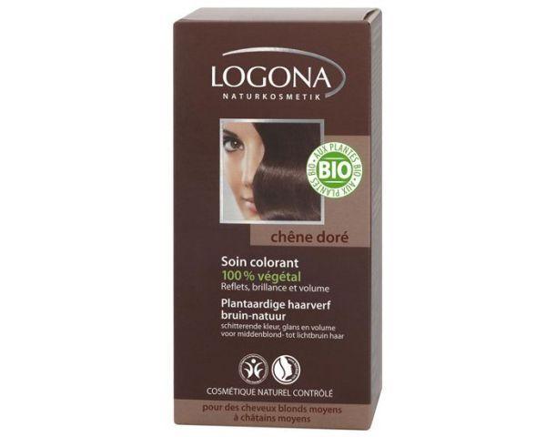 LOGONA Soin Colorant Végétal Chêne Doré - 100 g