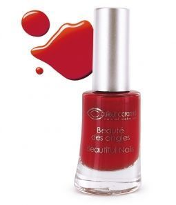 couleur caramel Vernis à ongles - 42 Rouge Poinsettia